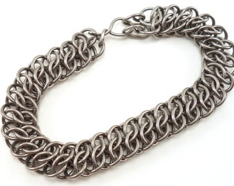 Stainless Chainmail Bracelet Made to Order