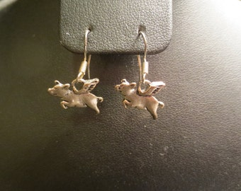 When Pigs Fly Earrings