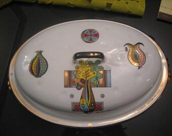 Georges Briard Green Garden Roasting Pan