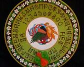 """FREE SHIPPING - Ouija board - Spiritistic board - Talking board """"Bird of Paradise"""""""
