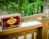Cigar Box Guitar - 4 String, Fretted