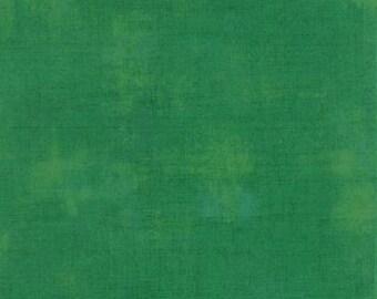 Grunge Basics in Kelly Green 30150-232 by Moda Fabrics by the Yard
