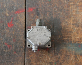 vintage american can company electric switch