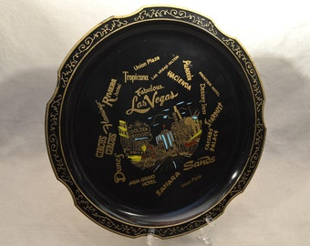 Las Vegas Souvenir Plaque, Plate, Dish, Wall Hanging