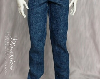 Medium blue jeans -for Souldoll N.L. boys