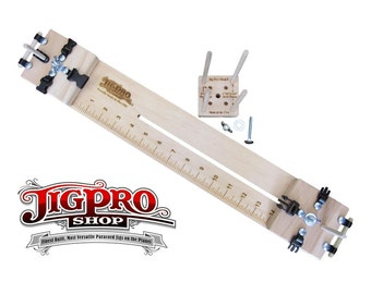 """14"""" Professional Paracord Bracelet Jig With Multi-Monkey Fist Jig (3) In-One"""