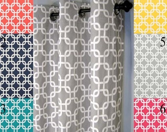 """FREE SHIP Blackout Lined Gotcha Grommet Curtains - 2 Curtain Panels You Pick the Color - 50"""" Wide x 50, 60, 72, 84, 90, 96, 108 or 120"""" Long"""
