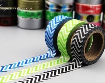 Washi Tape Set - Japanese Washi Tape - Masking Tape - Deco Tape - 3 Rolls - WTS2013