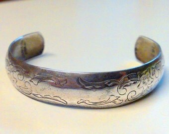 S. Kirk and Son Sterling Silver Cuff Bracelet 1659