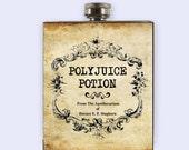 Polyjuice Potion, Polyjuice Potion Flask, Flask, Harry Potter Inspired Flask, Flasks