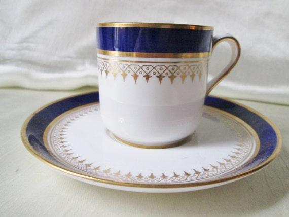 Spode Copeland China Classic Cobaslt Blue and Gold