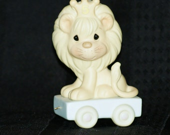 """1985 Precious Moments """"This Day Is Something To Roar About"""" Lion Figurine 15989"""