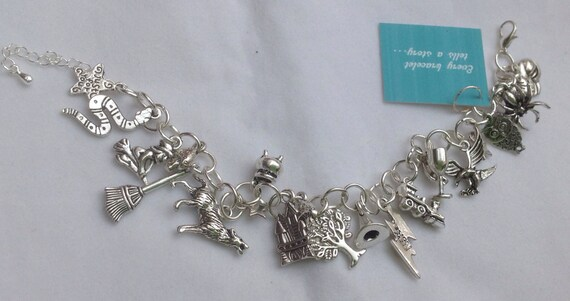 Harry Potter charm bracelet - Story themed charm bracelet