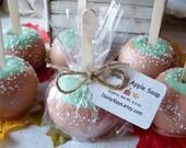 Caramel Apple Soap ~ Christmas, Bath, Home, Gifts, Autumn, Primitive, Fall, Parties, Favors, ACOFT, OFG team, SKIRT