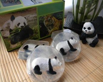 Panda Soap / Panda party favors / Safari Ltd toy soap