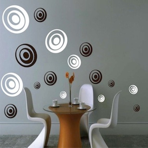 Depth Rings Wall Decals Ring Wall Designs Shapes Wall