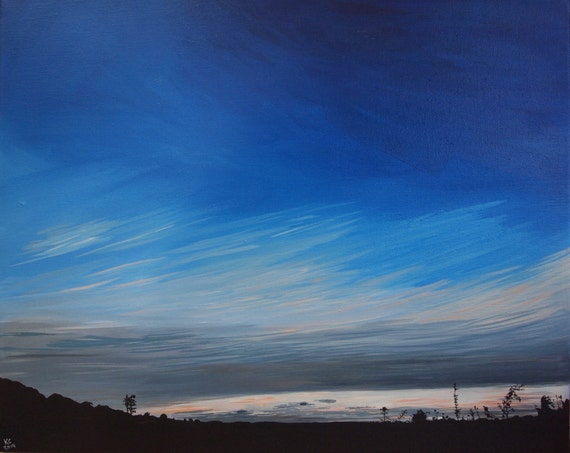 Country Sky 3 - Original Painting