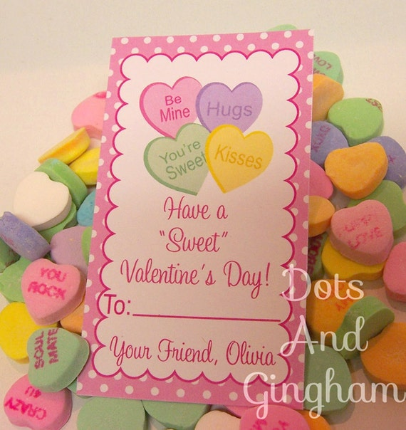 conversation hearts valentines day cards conversation hearts valentines day card printable 6067