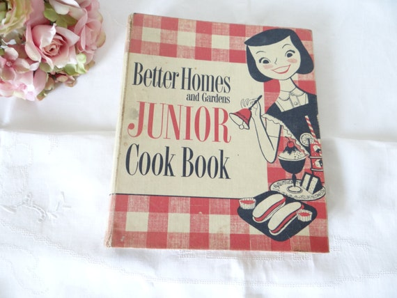 Vintage better homes and gardens junior cook book first - Vintage better homes and gardens cookbook ...