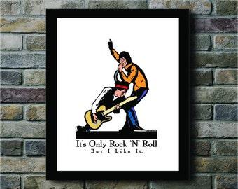 It's Only Rock n' Roll Digital Print - 8x10