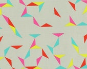 Tangrams in Eggshell - Moonlit - Rashida Coleman Hale - Cotton + Steel