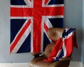 Large Vintage United Kingdom Country Flag