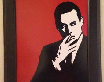 Don Draper from Mad Men Art Print