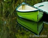 Green Canoe 8 x 10 photograph