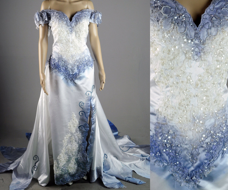 Corpse Bride Wedding Gown: Tim Burton Corpse Bride Wedding Dress Gown Costume Halloween