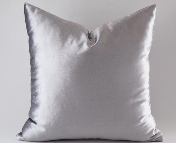 silver velvet pillow covers decorative velvet pillows throw. Black Bedroom Furniture Sets. Home Design Ideas