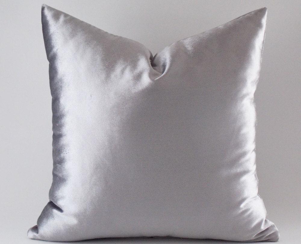 Silver Velvet Pillow Covers Decorative Velvet Pillows Throw