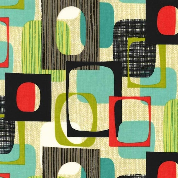 Framed By Michael Miller Fabrics Squares Michael Miller