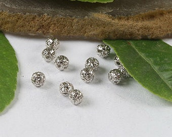 150pcs filigree craft spacers beads (h0416,h0417 or h0418)