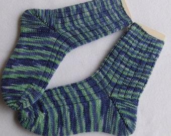 Hand Knit Socks  for Women UK 5-7, US 7-9  Nr. 15