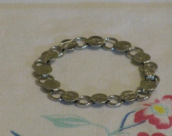 Sarah Coventry Silver Tone Bracelet