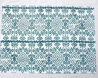 Ikat Turquoise Place Mat Set of 4
