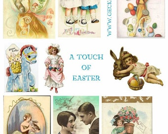 A Touch Of Easter Collage Sheet