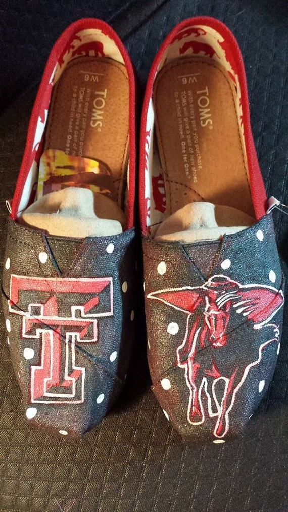 handpainted custom tech toms or any by thepaintedchild