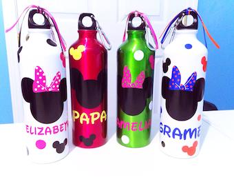 Personalized Disney Water Bottle