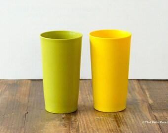 Tupperware: pair of tumblers