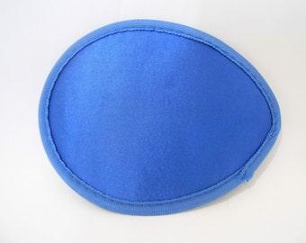 "5"" Royal Blue Teardrop Fascinator Base"