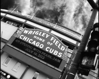 Pearl Jam Wrigley Field Print