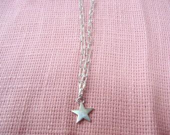 Silver Star Necklace / women's jewelry / jewelry / teen Jewelry / girls Jewelry / men's jewelry