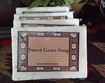Sweetgrass Soap , Voodoo, Hoodoo, Ritual, sacred,, Ceremony, Conjure, Pagan,Wiccan