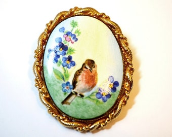 Popular Items For Birds And Flowers On Etsy
