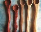 Wavy Salt Spoons