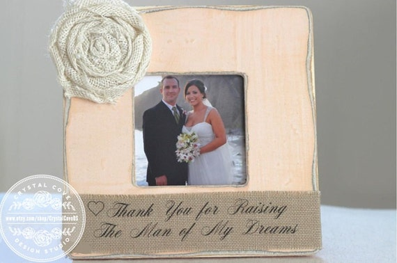 Thank You Gifts For Parents At Wedding: Parents Thank You Gift Wedding Parents Of The By CrystalCoveDS