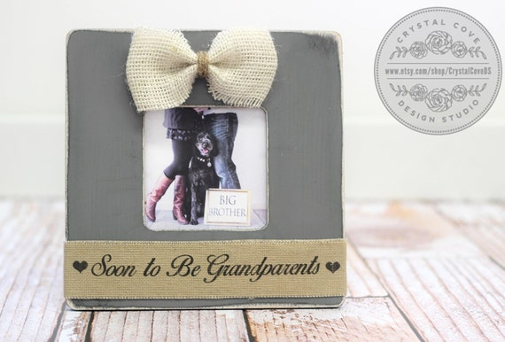 Baby Gift Announcement : Baby gift pregnancy expecting announcement for grandparents