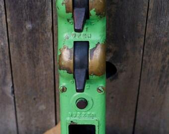 Vintage Industrial Garage Door Opener