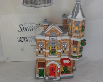 vintage christmas department 56 village jacks corner. Black Bedroom Furniture Sets. Home Design Ideas